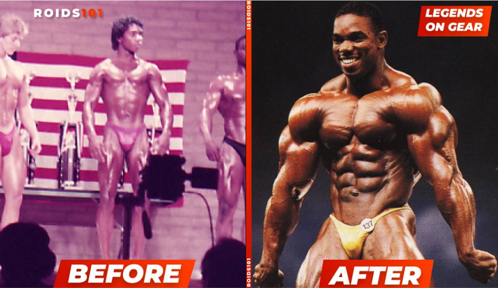 flex wheeler steroids before and after