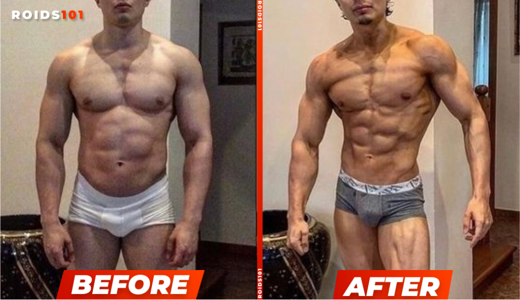 trenbolone before and after example 1